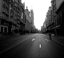 Gran Via by Caroline Fournier