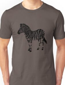 One Wild Zebra Unisex T-Shirt