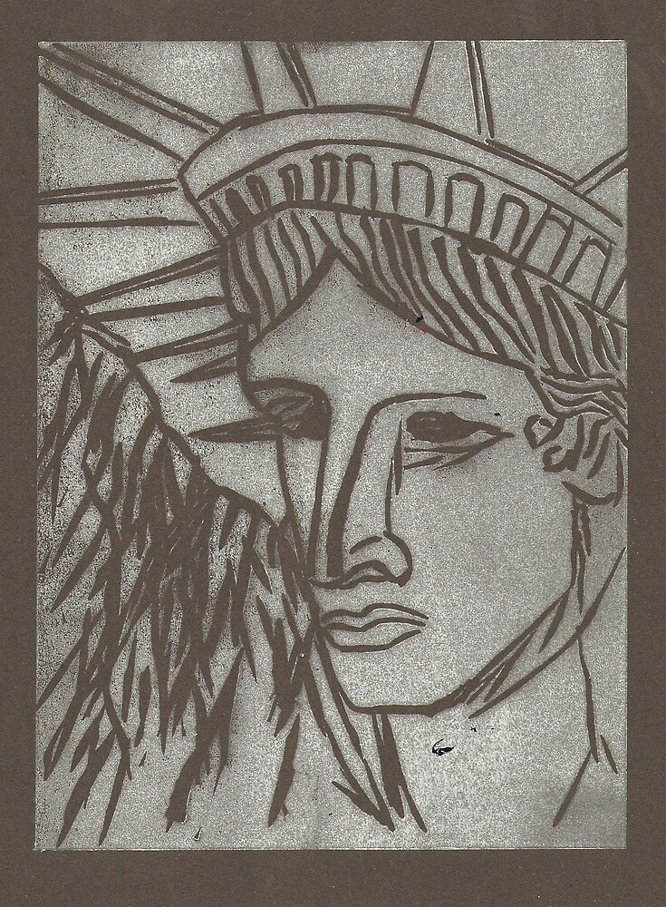 Statue of Liberty by Matthew Rogers