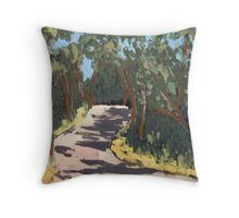 Hunt Road, McLaren Vale SA Throw Pillow