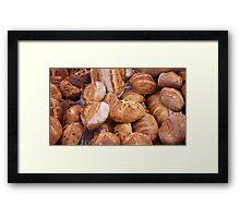 bread farmers market Framed Print