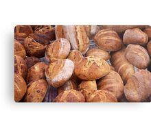bread farmers market Metal Print