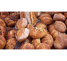 bread farmers market Photographic Print