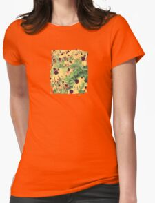 Rudbeckia - JUSTART ©  Womens Fitted T-Shirt