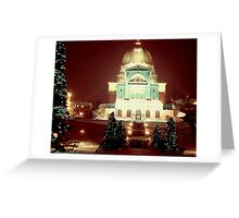Christmas Past Greeting Card