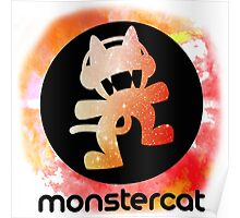 Monstercat Abstract Logo Poster