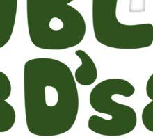 Dublin D's Sticker