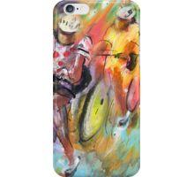 Le Tour De France Madness iPhone Case/Skin