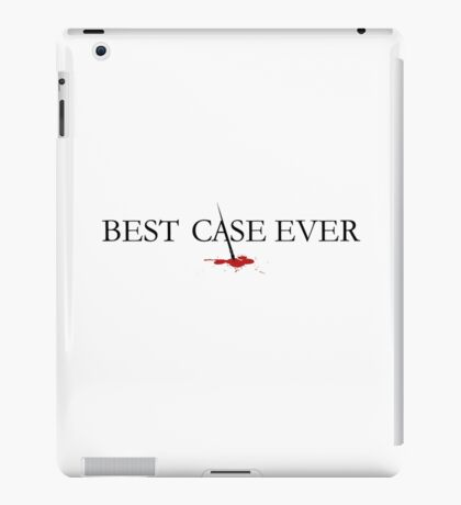 Best Case Ever iPad Case/Skin