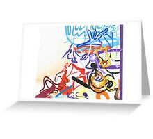 Abstract #19 Greeting Card