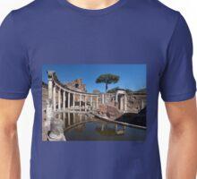The Maritime Theatre in Hadrian's Villa, Tivoli  Unisex T-Shirt