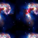 Galaxy-Butt Leggings  by ArkelAngel