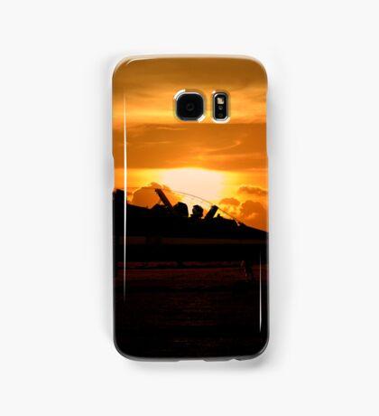 Scampton Sunset  Samsung Galaxy Case/Skin
