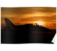 Scampton Sunset  Poster