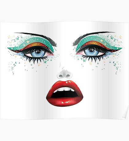 Carnival Makeup Poster