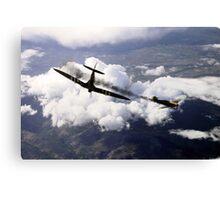 Spitfire Kill Canvas Print