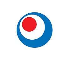 MODS, Mod Circle, Bulls eye, Target, Scooter, Lambretta, Vespa by TOM HILL - Designer
