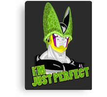 Dragonball Z Cell Mr Perfect Canvas Print