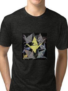 The Golden Crane Tri-blend T-Shirt