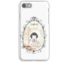 August, falling star. iPhone Case/Skin