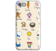 Nursery ABC iPhone Case/Skin
