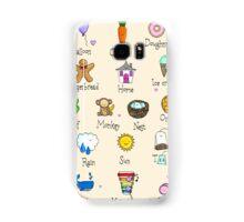 Nursery ABC Samsung Galaxy Case/Skin