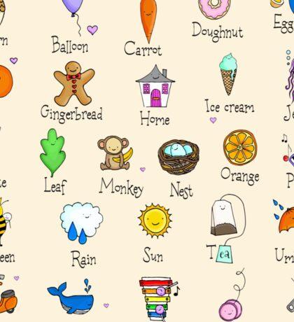 Nursery ABC Sticker