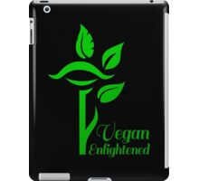 Vegan Enlightened iPad Case/Skin