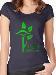 Vegan Enlightened Women's Fitted Scoop T-Shirt