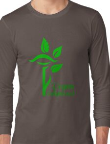 Vegan Enlightened Long Sleeve T-Shirt
