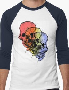 trifecta Men's Baseball ¾ T-Shirt