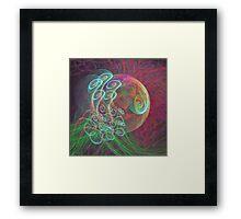 'Bubblish Thingy' Framed Print