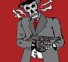Skull gangster by Logan81