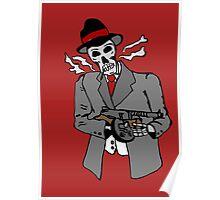 Skull gangster Poster