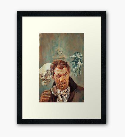 VINCENT PRICE: TALES FROM THE DARKNESS #3 Framed Print