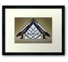 Directional Symmetry Framed Print