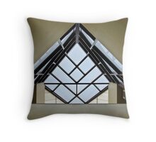 Directional Symmetry Throw Pillow