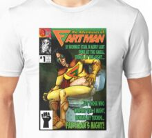 the Adventures of Fartman Unisex T-Shirt