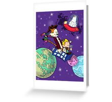 The Doctors at Play Greeting Card