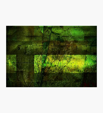 Textured Wall Photographic Print