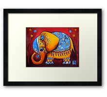 The Littlest Elephant Framed Print