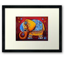 The Littlest Elephant Framed Print