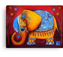 The Littlest Elephant Canvas Print