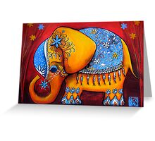 The Littlest Elephant Greeting Card
