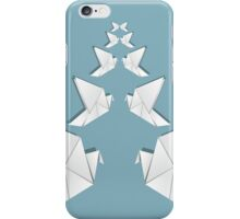 Origami pigeon 3 iPhone Case/Skin