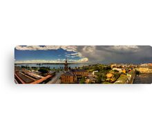 Newcastle Panorama Canvas Print