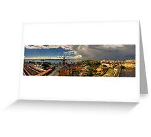 Newcastle Panorama Greeting Card
