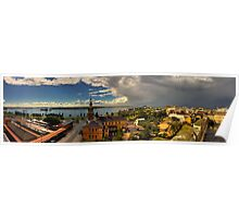 Newcastle Panorama Poster
