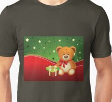 Teddy Bear with Gift Box 3 Unisex T-Shirt