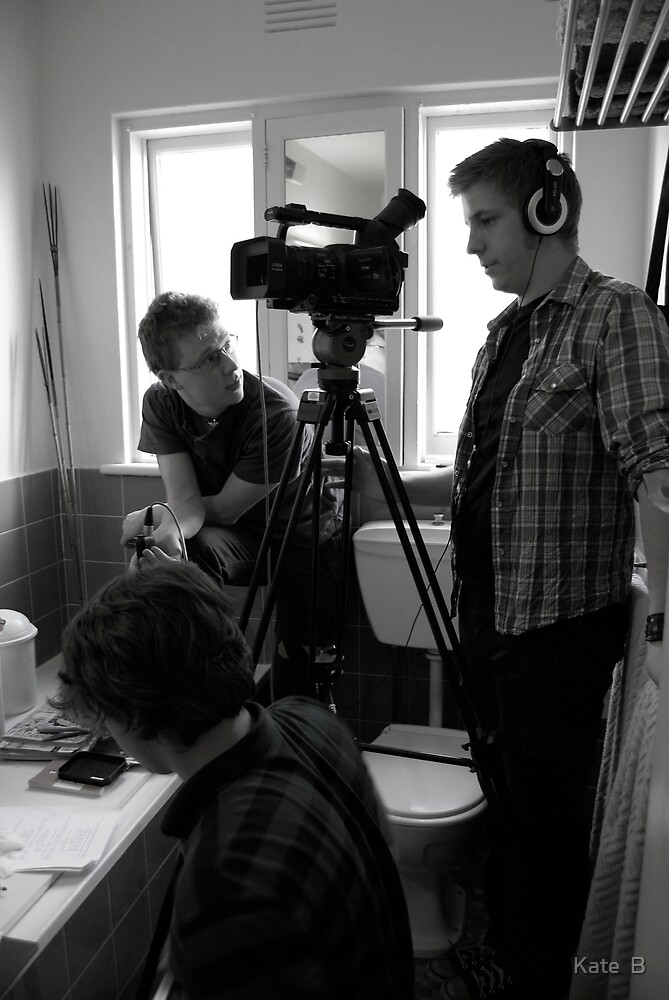 'The Phenomenon' production still- bathroom scene by Kate Pudim - Ingenue Photography